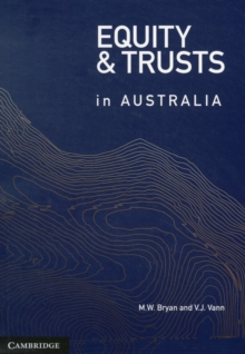 Equity and Trusts in Australia, Paperback Book