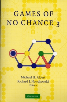 Games of No Chance 3, Paperback Book
