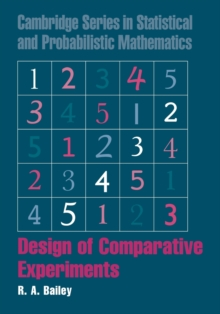 Design of Comparative Experiments, Paperback / softback Book
