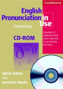 English Pronunciation in Use Elementary CD-ROM for Windows and Mac (single User), CD-ROM Book