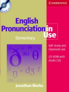English Pronunciation in Use Elementary Book with Answers, 5 Audio CDs and CD-ROM, Mixed media product Book