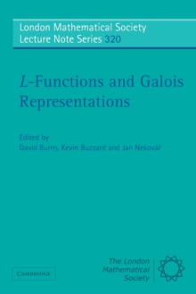 L-Functions and Galois Representations, Paperback / softback Book