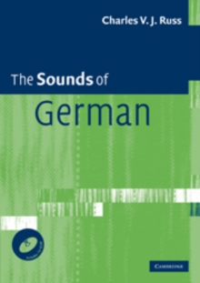 The Sounds of German with CD-ROM, Mixed media product Book