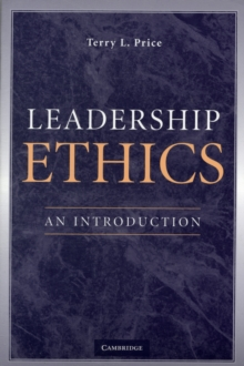 Leadership Ethics : An Introduction, Paperback / softback Book