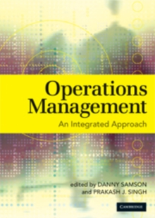 Operations Management : An Integrated Approach, Paperback / softback Book