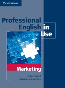 Professional English in Use Marketing with Answers, Paperback Book