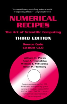 Numerical Recipes Source Code CD-ROM 3rd Edition : The Art of Scientific Computing, CD-ROM Book