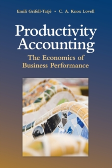 Productivity Accounting : The Economics of Business Performance, Paperback / softback Book