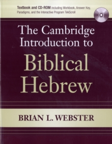 The Cambridge Introduction to Biblical Hebrew Paperback with CD-ROM, Mixed media product Book