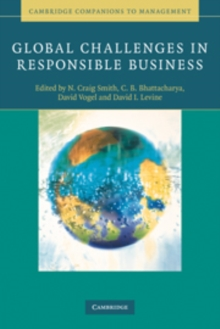 Global Challenges in Responsible Business, Paperback / softback Book