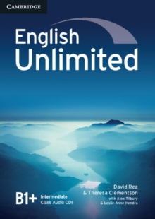 English Unlimited Intermediate Class Audio CDs (3), CD-Audio Book