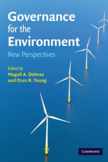 Governance for the Environment : New Perspectives, Paperback / softback Book