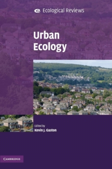 Urban Ecology, Hardback Book