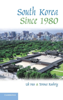 South Korea since 1980, Hardback Book
