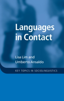 Languages in Contact, Hardback Book