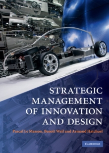 Strategic Management of Innovation and Design, Hardback Book