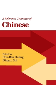 A Reference Grammar of Chinese, Hardback Book