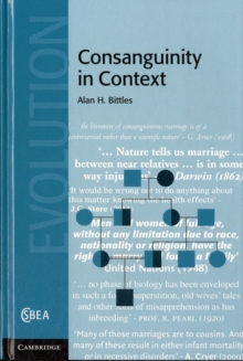 Consanguinity in Context, Hardback Book