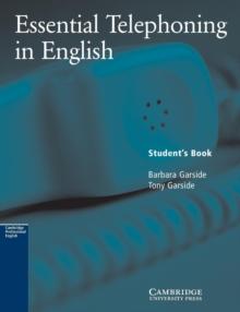 Essential Telephoning in English Student's Book, Paperback Book