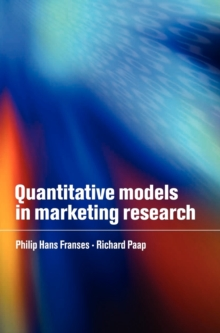Quantitative Models in Marketing Research, Hardback Book
