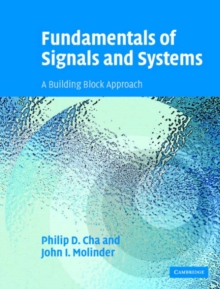 Fundamentals of Signals and Systems with CD-ROM : A Building Block Approach, Mixed media product Book