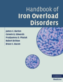 Handbook of Iron Overload Disorders, Hardback Book