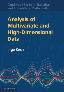 Analysis of Multivariate and High-Dimensional Data, Hardback Book