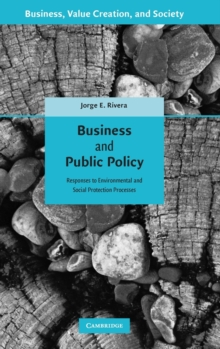 Business and Public Policy : Responses to Environmental and Social Protection Processes, Hardback Book