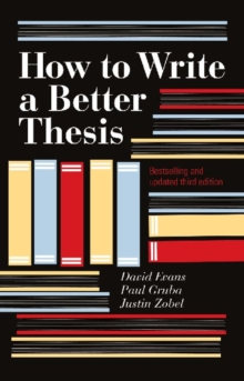 How to Write a Better Thesis, Paperback / softback Book