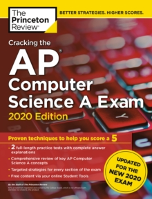 Cracking the AP Computer Science A Exam, 2020 Edition, Paperback / softback Book