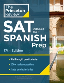 Cracking the SAT Subject Test in Spanish, Paperback / softback Book
