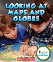 LOOKING AT MAPS & GLOBES, Paperback Book