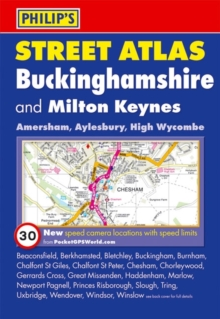 Philip's Street Atlas Buckinghamshire, Paperback / softback Book