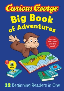Curious George Big Book of Adventures, Hardback Book
