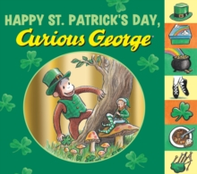 Happy St. Patrick's Day, Curious George, Hardback Book