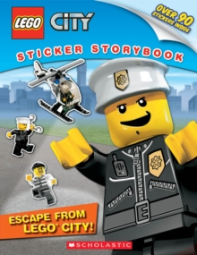LEGO City: Escape from LEGO City! : Sticker Storybook, Paperback Book