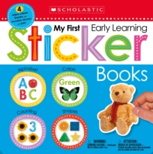 My First Early Learning Sticker Books Box Set (Scholastic Early Learners), Quantity pack Book