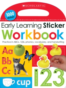 Early Learning Sticker Workbook, Paperback Book