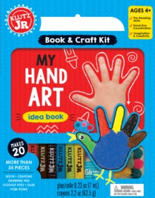 My Hand Art, Mixed media product Book