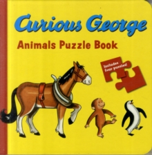 Curious George Animal Puzzle Book, Board book Book