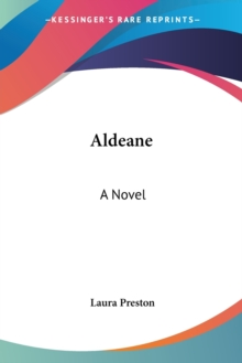 Aldeane: A Novel, Paperback Book