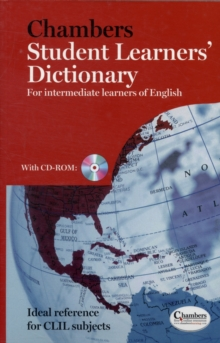 Chambers Student Learners' Dictionary : For Intermediate Learners of English, Paperback Book