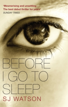 Before I Go To Sleep, Paperback Book