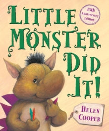 Little Monster Did it!, Paperback Book