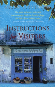 Instructions For Visitors, Paperback / softback Book