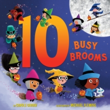 10 Busy Brooms, Hardback Book