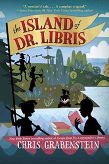 The Island of Dr Libris, Hardback Book