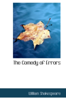 The Comedy of Errors, Hardback Book