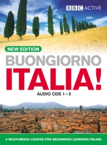 BUONGIORNO ITALIA! Audio CD's (NEW EDITION), CD-Audio Book