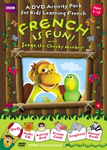 French is Fun with Serge, the Cheeky Monkey!, Mixed media product Book